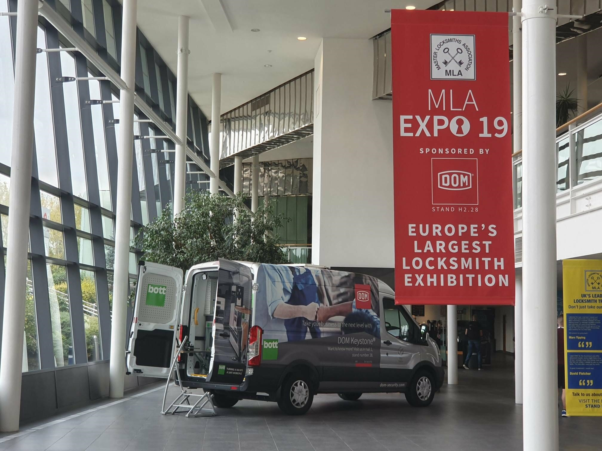 A Huge Success for Europe's Largest Locksmith Exhibition – MLA Expo2019
