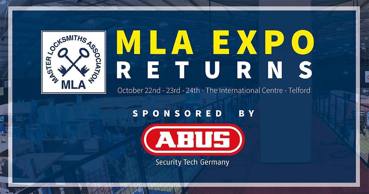 MLA Expo Back in 2021 – UK's Largest Locksmith EventReturns